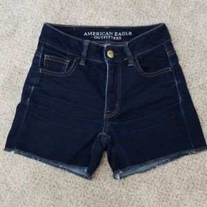 American Eagle Outfitters Hi-Rise Shortie Shorts